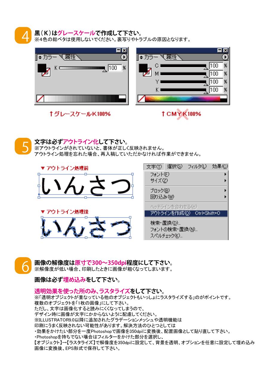 印刷用ガイドライン2